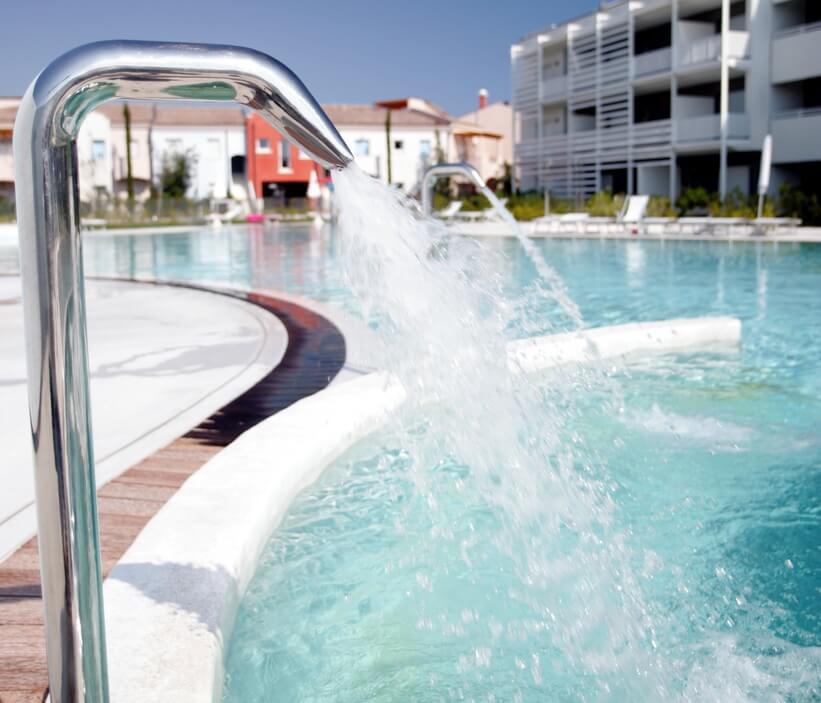 Accessori piscine giemme trattamento acque - Fontana per piscina ...